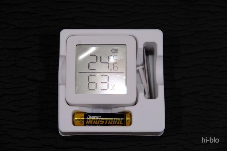 SwichBot温湿度計