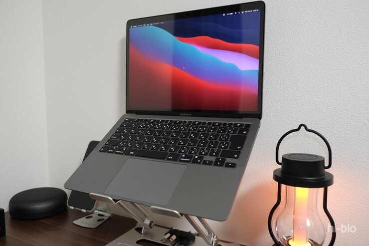 MacBook Air M1 desktour workspace