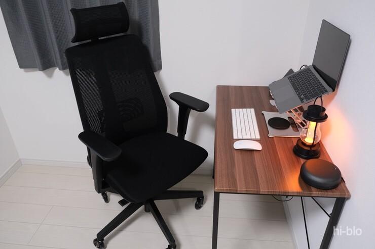 デスクとオフィスチェア デスクツアー 単身赴任